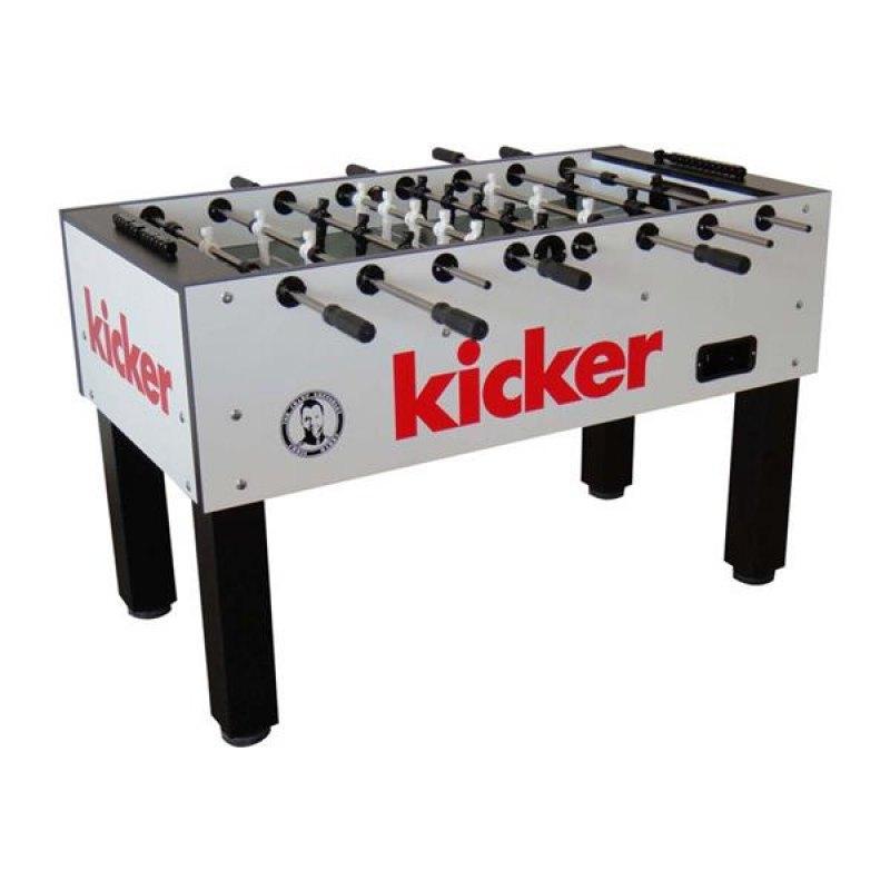 kicker Tischfussball Profi Kicker weiss