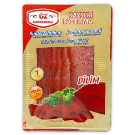 ÖZ - Rinderdörrfleisch nach türkischer Art (Scheiben) - Kayseri pastırma (dilim)