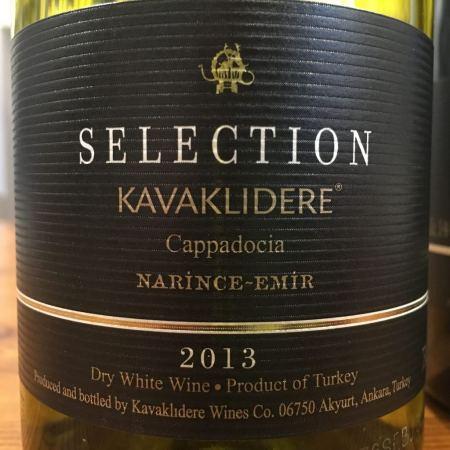 KAVAKLIDERE Selection Narince-Emir 2013