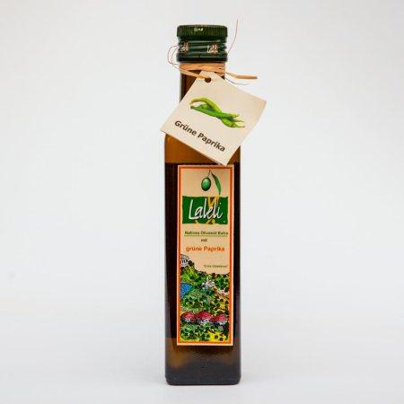 LALELI - Olivenöl mit grüner Paprika - yeşil biber çeşnili