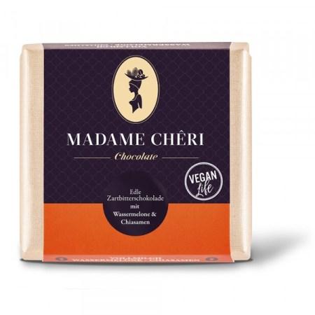 Madame Chêri - Zartbitter Wassermelone und Chia-Samen