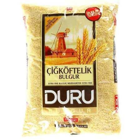 DURU Bulgur ~ Bulgur extra fein ~ Çiğ köftelik bulgur