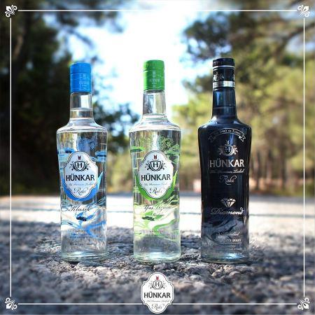 Hünkar Rakı Mix ~ Klasik - Diamond - Yeşil