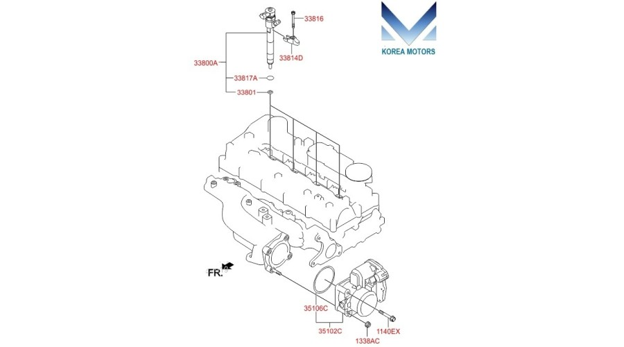 NEW INJECTOR ASSY-FUEL FOR EURO-6 DIESEL ENGINES A2 D4HA