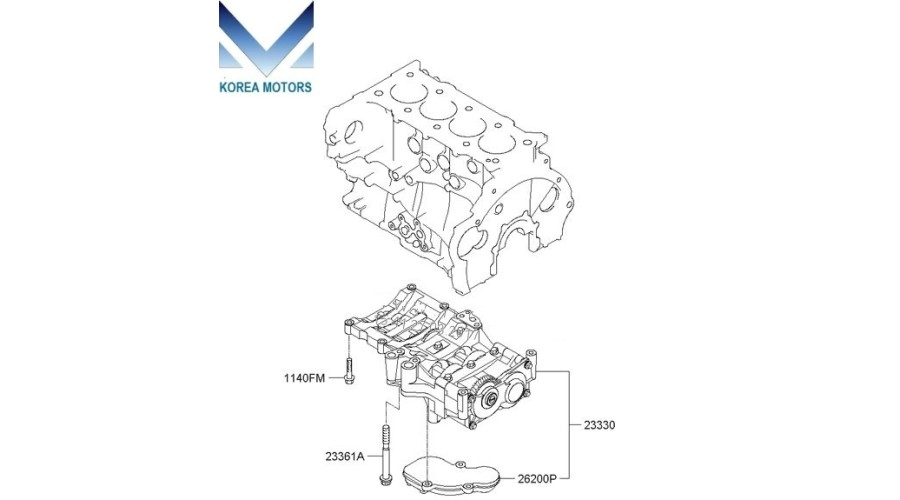 MOBIS CARRIER ASSY-BALANCER SHAFT FOR ENGINE D4HB/D4HA KIA