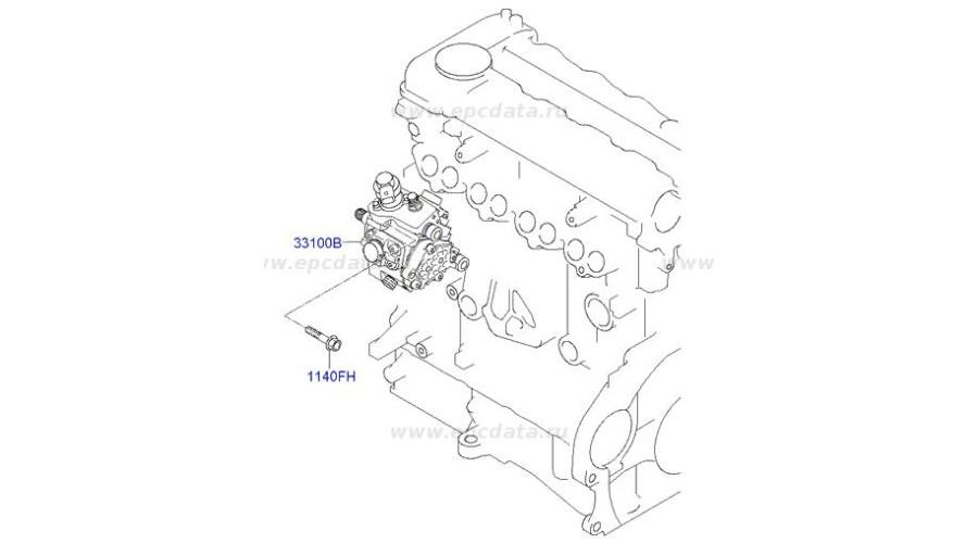 NEW PUMP ASSY-HIGH PRESSURE FOR ENGINE DIASEL D4FA MOBIS