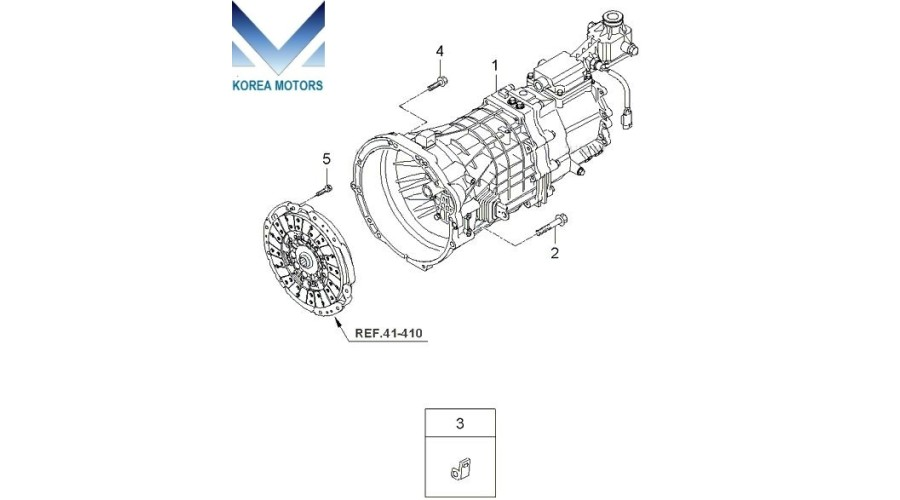 MOBIS USED TRANSMISSION ASSY-MANUAL 4WD SET FOR SORENTO