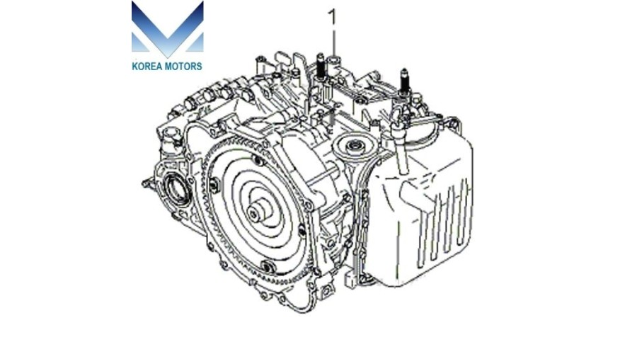 USED TRANSMISSION ASSY-ATA 4WD SET FOR KIA SPORTAGE