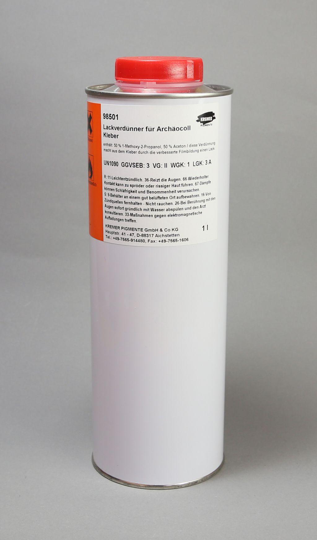 Acetone Paint Thinner : acetone, paint, thinner, Paint, Thinner, Archäocoll, 2000,, Ceramic, Mediums,, Binders, Glues, Kremer, Pigments, Online
