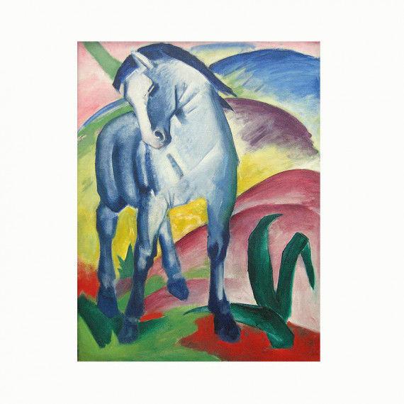 Franz Marc - Blaues Pferd I PDF Labbé