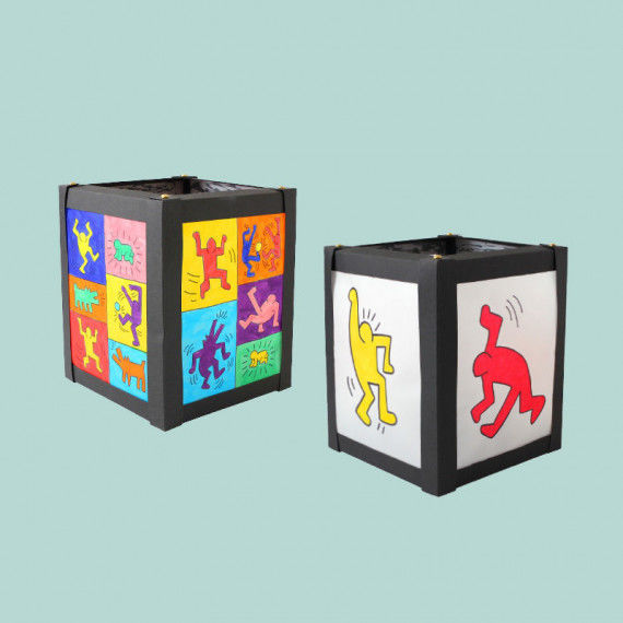 Keith Haring Laternen PDF Labb