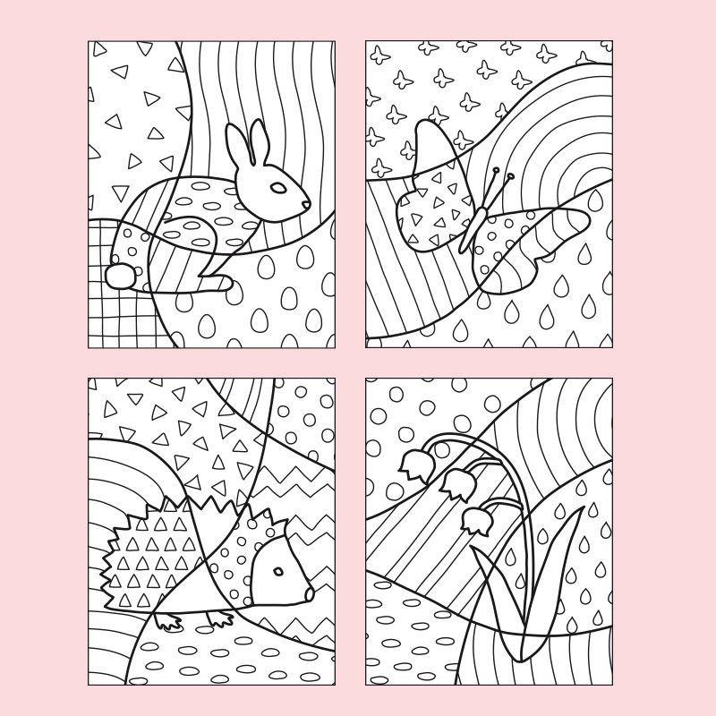 Pop-Art - Frühling PDF Labbé