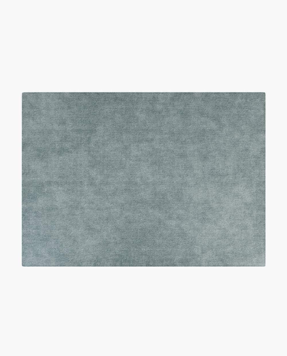 tapete moderno em tecido azul
