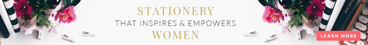 LEADERS IN HEELS stationery to nurture, inspire and empower women