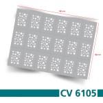 CV6105 Klebeschablonen 3