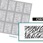 CV6127 Klebeschablonen 3