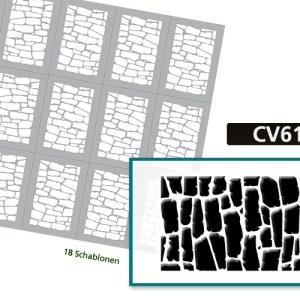 CV6128 Klebeschablonen