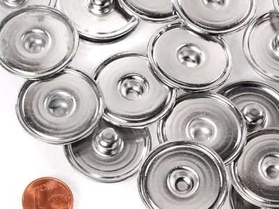 20 XL Button Unterteile Ø ±29mm (DIY)