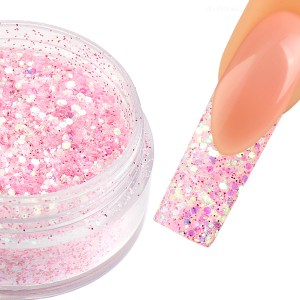 Glittermix Frosty-Rosa