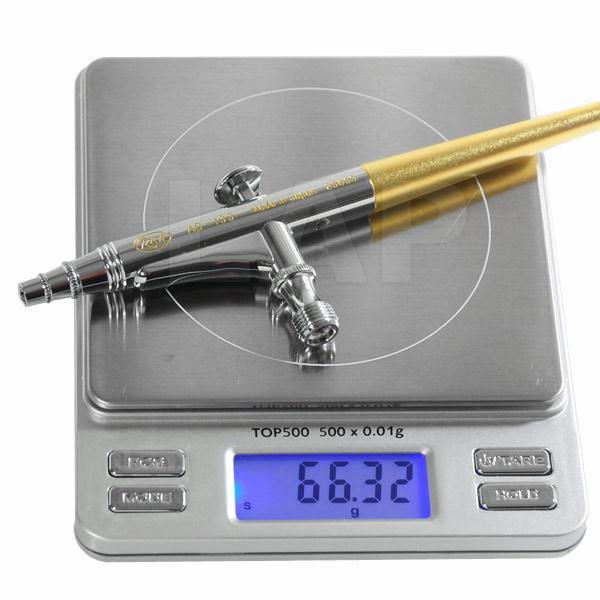 Spritzpistole RICH AB 100 (Ø 0,2 mm) Gewicht
