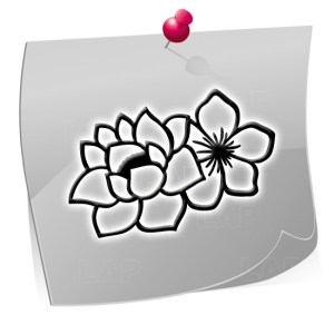Klebeschablonen Airbrush Nailart Outlines