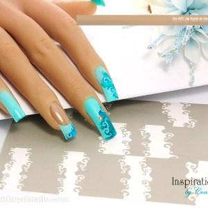 Inspiration Airbrushnails FFT008 | Nailart Airbrush