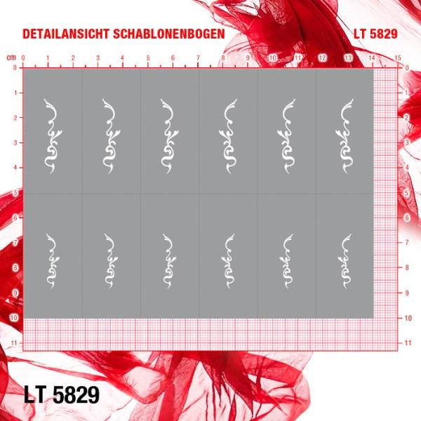 Schablonen LT5829