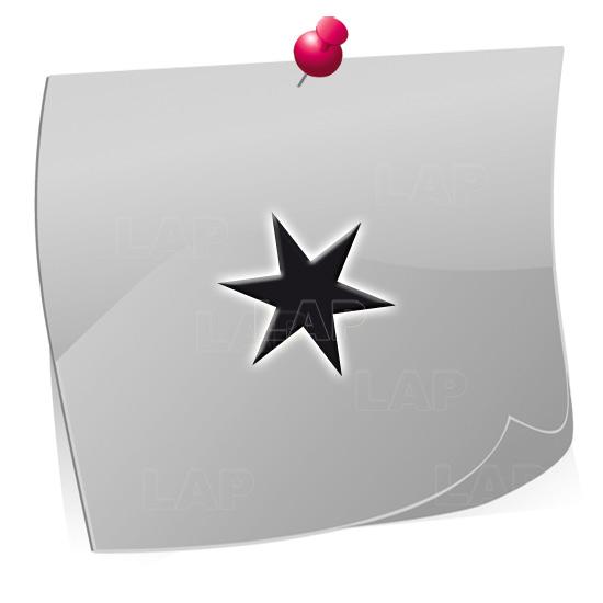 24 Mini Nailart Airbrush Klebeschablonen Sterne ST7501, selbstklebend, Airbrushnailart