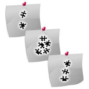 Puzzles PL01 Klebeschablonen