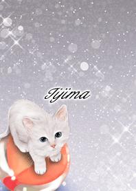 いいじま専用 白猫とビー玉
