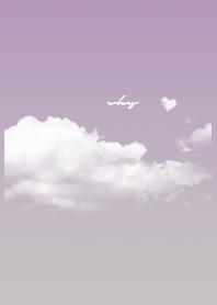 パープル  : Today's sky