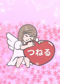 ハートと天使『つねる』