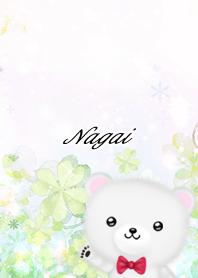 ながい☆シロクマ-春のクローバー-