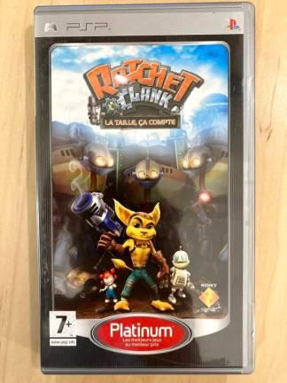 Ratchet & Clank: la taille, ça compte (platinum) / PSP
