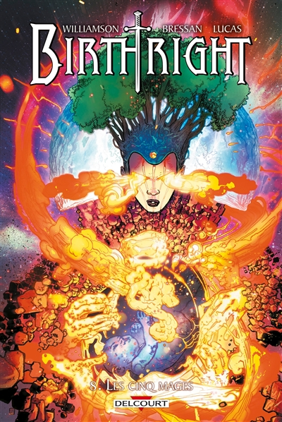 Birthright Volume 8, Les cinq mages