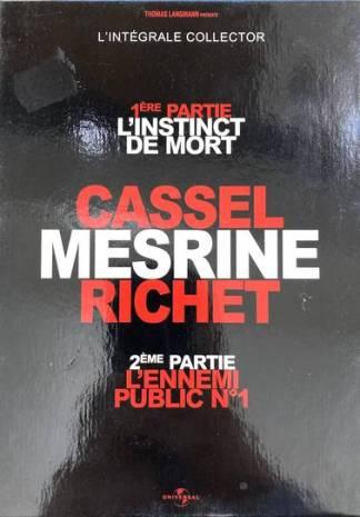 Mesrine-L'intégrale : L'instinct de Mort + L'ennemi Public n°1 [Édition Collector Limitée et Numérotée-Combo Blu-Ray + DVD]