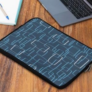 dark mod shapes laptop sleeve