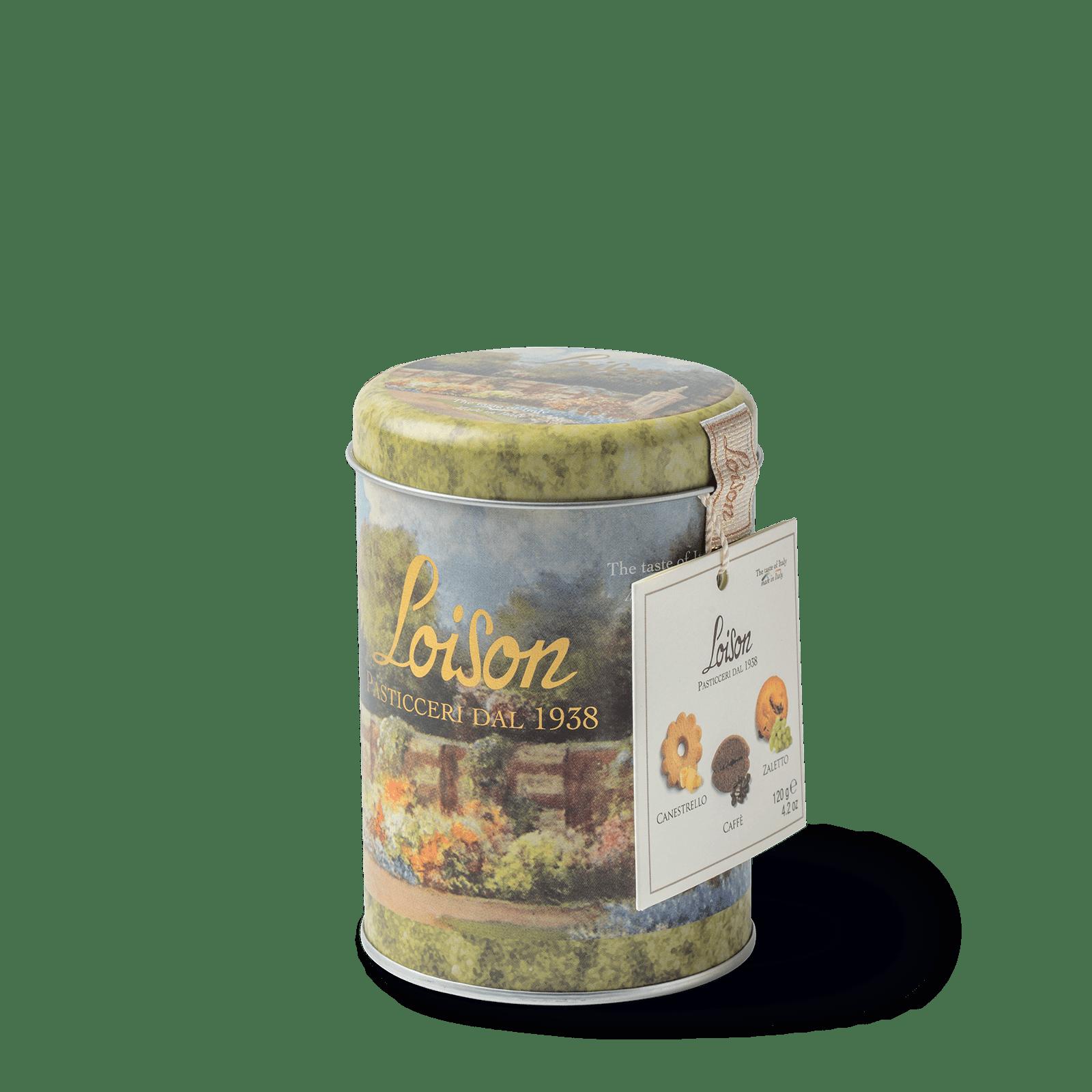Biscotti al burro in latta 120 grammi - i classici