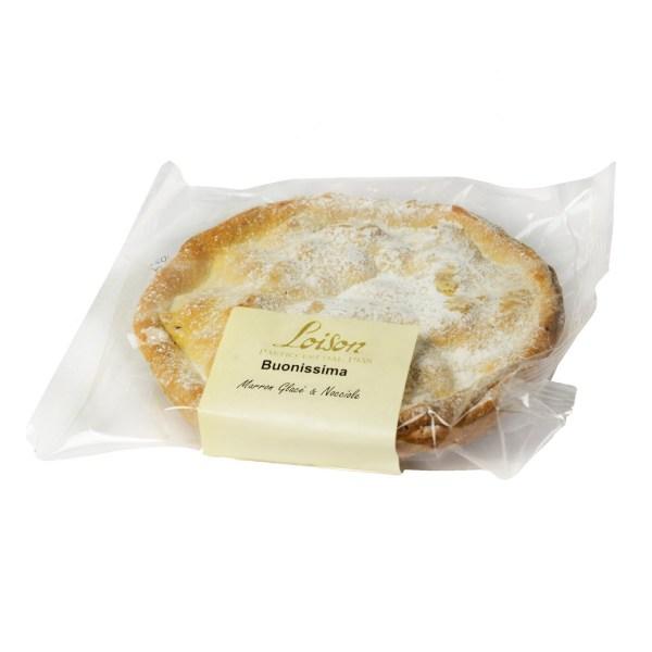 Torta Buonissima Marron Glacè e Nocciole