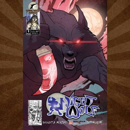 Night Wolf 1 Cover D