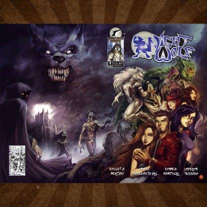 Night Wolf 1 Cover B