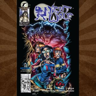 Night Wolf Issue 1 Keystone Comic Con 2019 Exclusive Cover