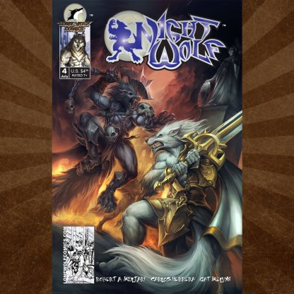 Night Wolf Issue 4 Carlos Herrera Cover