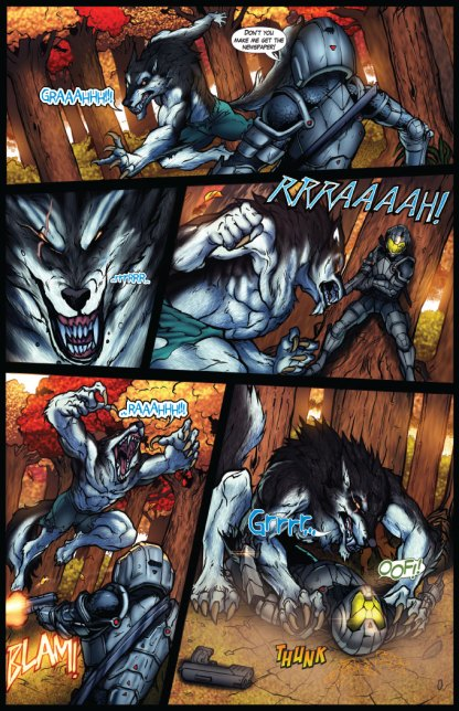 Night Wolf Issue 4 Page 17