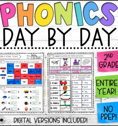 Phonics Worksheets   Phonics Day by Day   Daily Phonics Practice - Lucky  Little Learners [ 1000 x 1000 Pixel ]