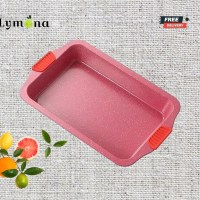 Large baking dish with silicone ears