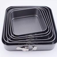 Square Spring-Form Dessert Pan Nonstick Leak-Proof Cake Pan 3pcs