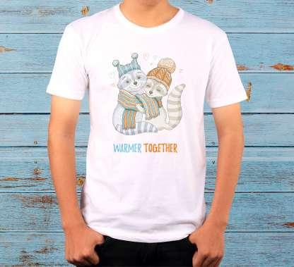 """""""Warmer Together"""" - Мъжка тениска"""