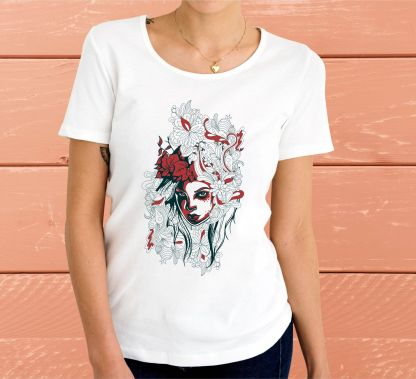 Есенно момиче - Дамска тениска