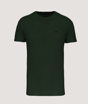 T-shirt BIO150 col rond homme - Forest green